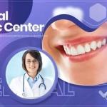 牙科 健康诊所 私人医院 宣传展示AE模板